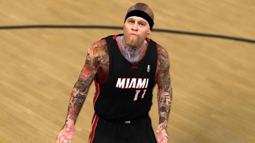 Chris Andersen Cyberface Mod (Hair Update)
