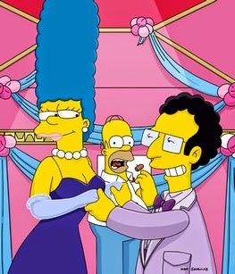 Una Propuesta un Poco Indecorosa,Artie Zikk y Marge, LOS ROQUIDOS DE HOMERO