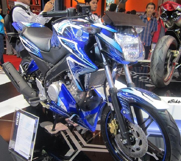Modif Yamaha Vixion Jadi Trail