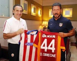 Cesare Prandelli & Diego Simeone