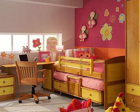 Dormitorios juveniles en espacios peque os decoraci n de for Recamaras para ninos espacios pequenos