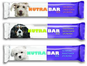 Free Sample of Nutrabar for dogs