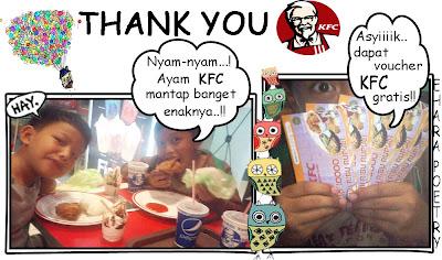Makan-makan di KFC