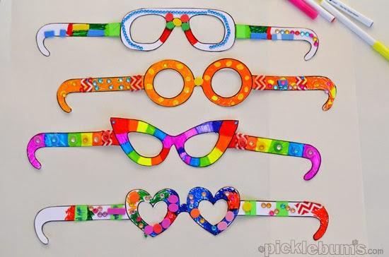 Как своими руками сделать очки из бумаги своими руками