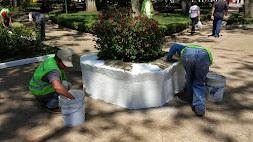 Mantiene Servicios Municipales, programa de Imagen Urbana: Ornelas