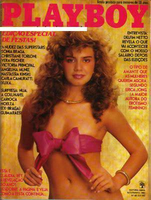 Cláudia Rey Playboy 1982