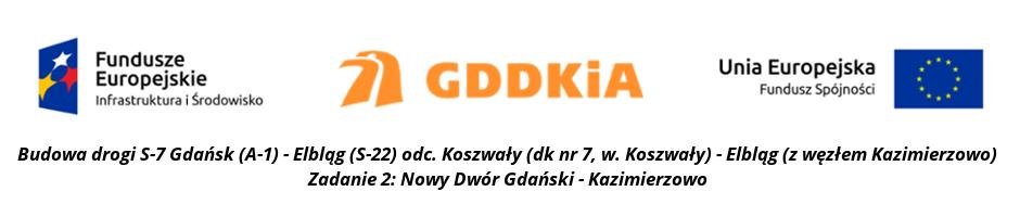 Budowa drogi S-7 Gdańsk (A-1) - Elbląg (S-22). Zadanie 2: Nowy Dwór Gdański - Kazimierzowo