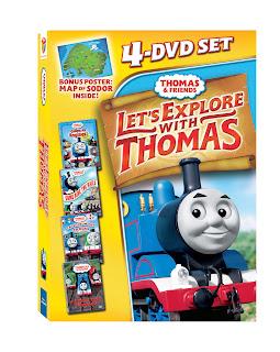 Thomas & Friends: Let's Explore with Thomas 4-DVD Set