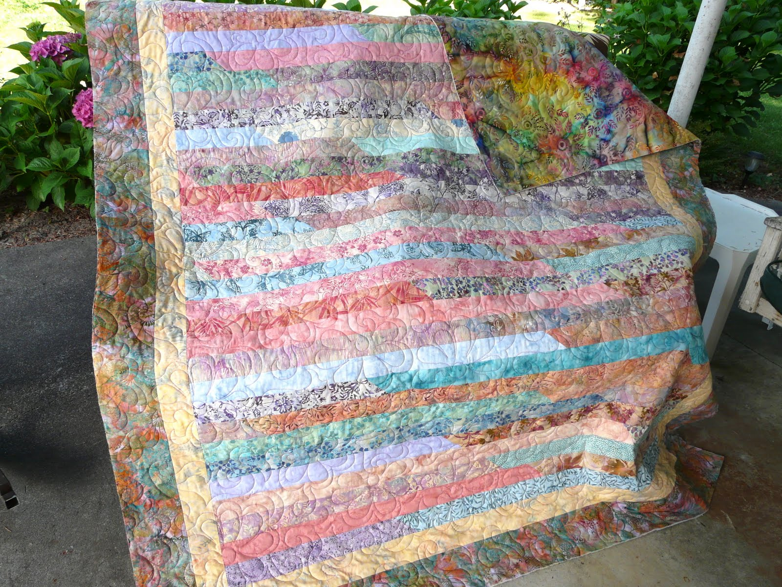 Timber Hill Threads Jelly Roll Race Quilts