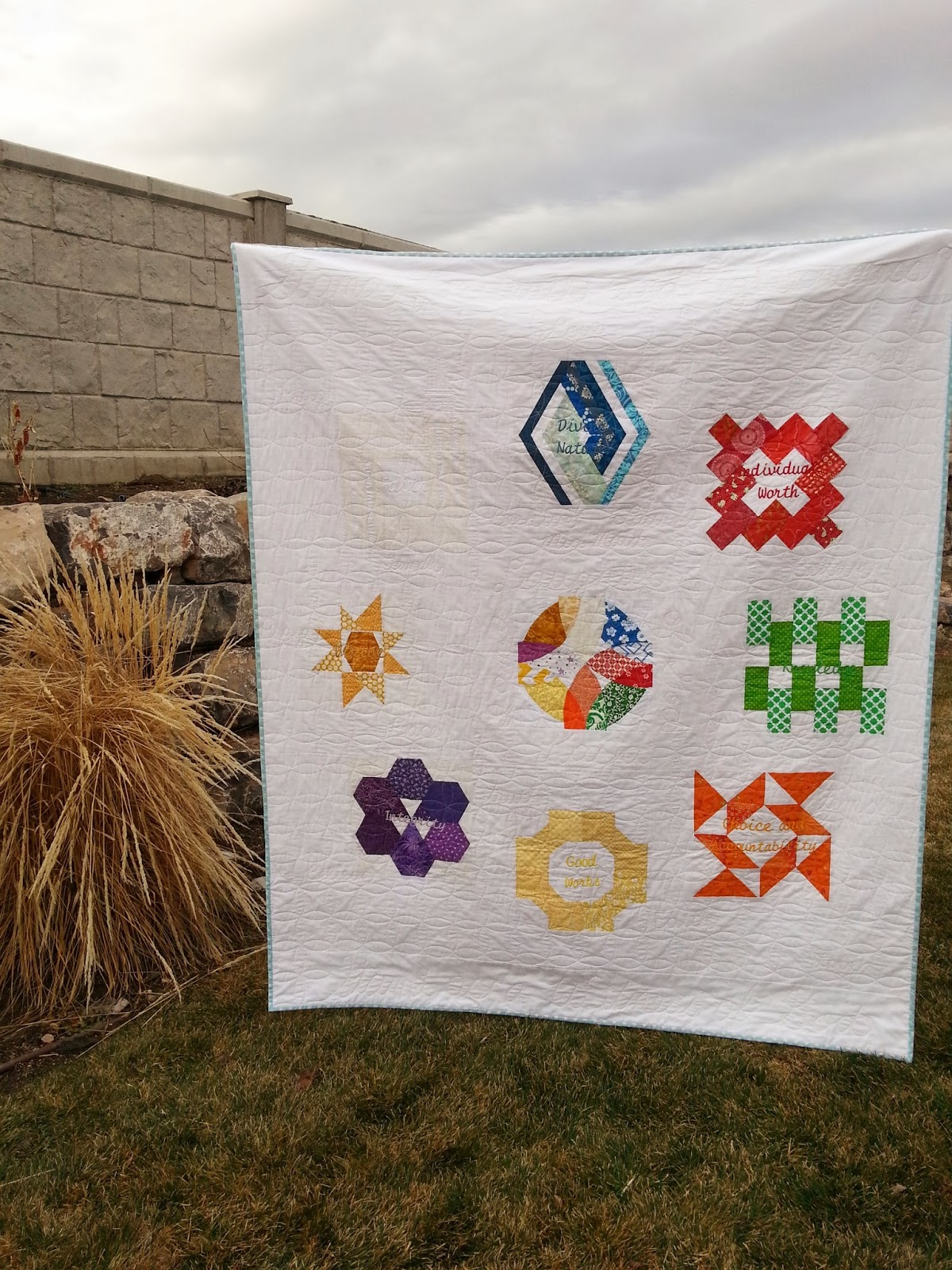 LDS YW Value Quilt