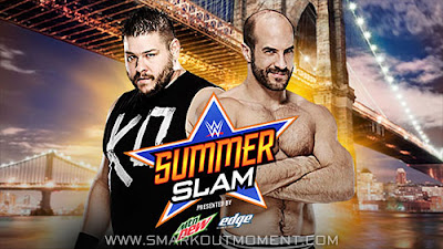 Kevin Owens vs Cesaro at 2015 WWE PPV event SummerSlam