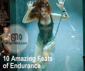 Top 10 Amazing Feats of Endurance