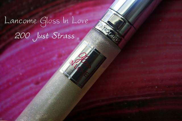 Lancome Gloss In Love 200 Just Strass Review, Photos & Swatches