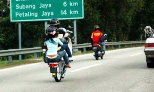 mat rempit malaysia stunt