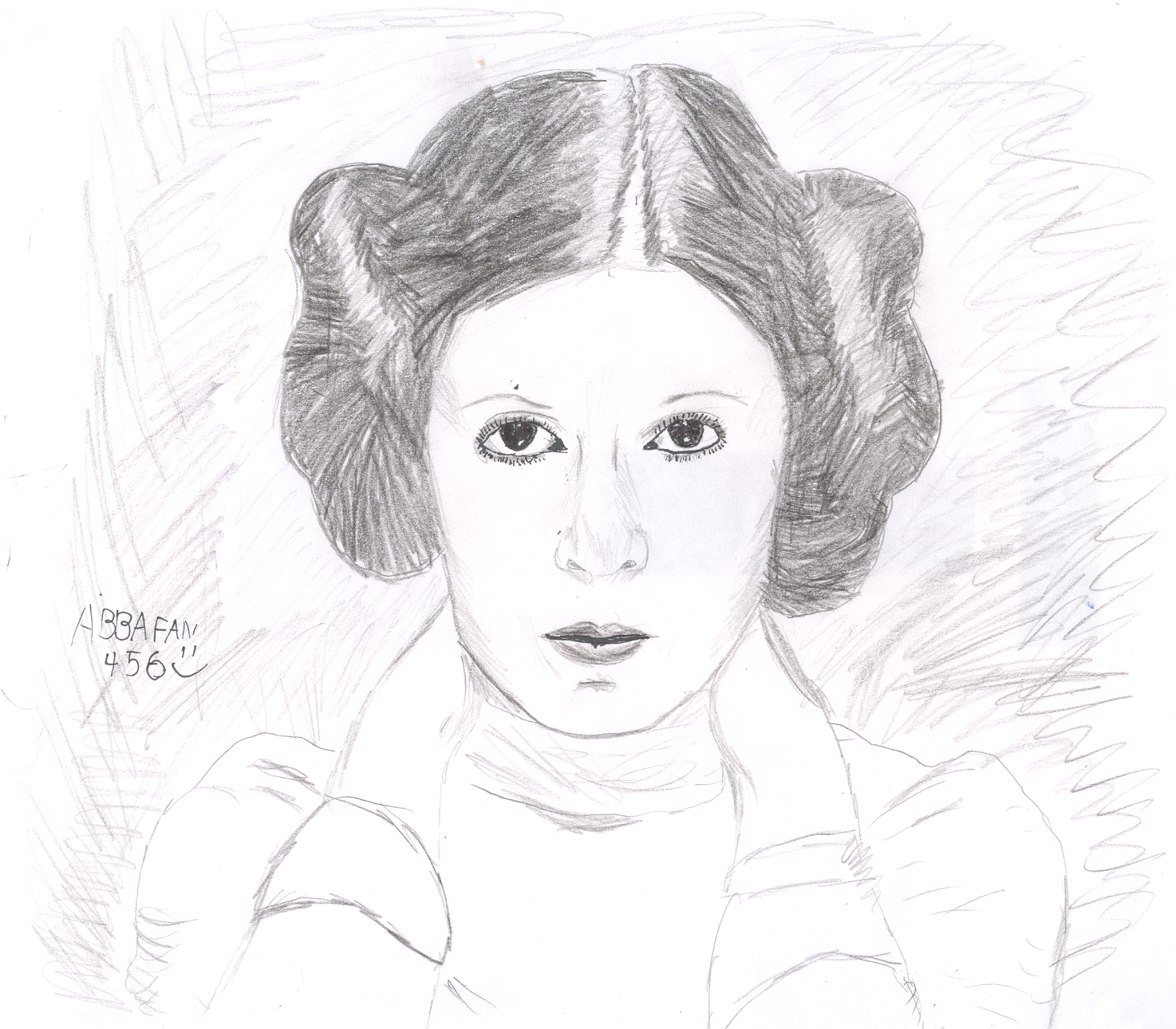 Princess leia coloring pages - Abbafan456s