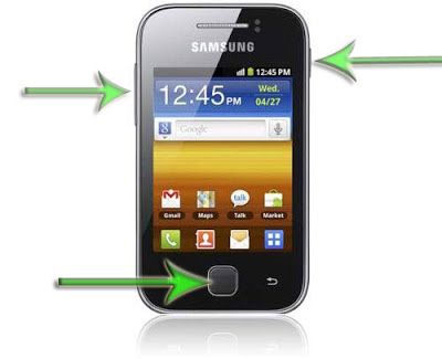 Restablecer datos modo Fábrica Samsung Galaxy Y S5360