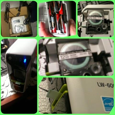 Epson LW-600P label Printer set up