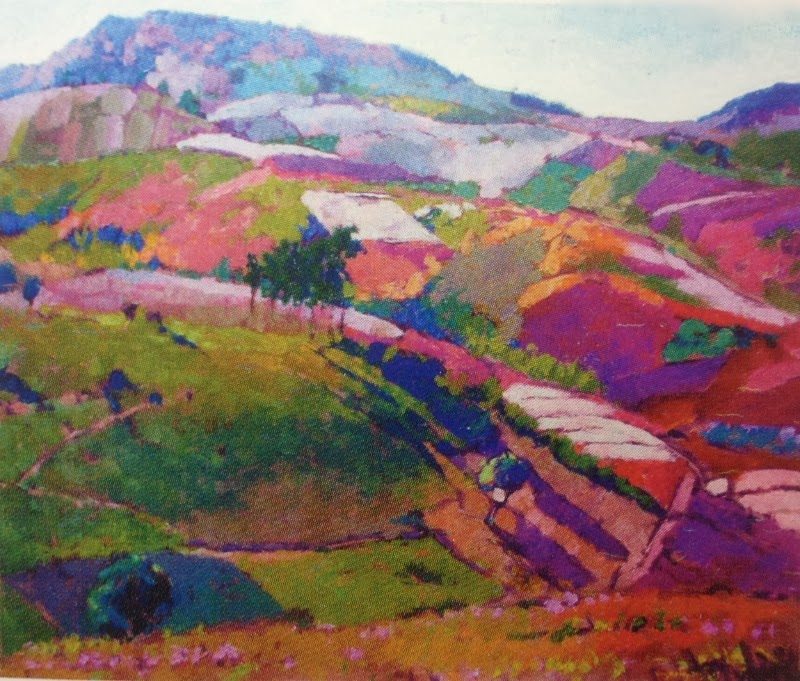 """Colorful High Land"" by Myoe Kyaw"