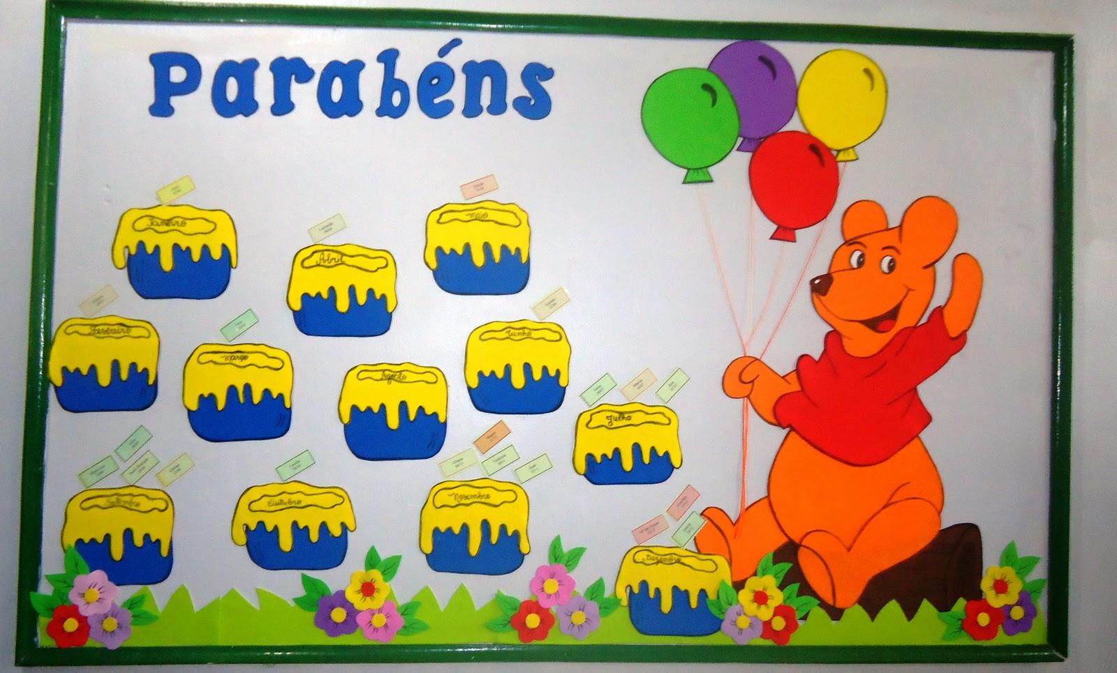 ... mural de aniversario 2011 espero que gostem e utilizem na escola de