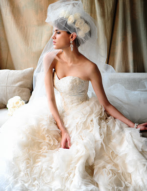 russian white and blue wedding dress designs