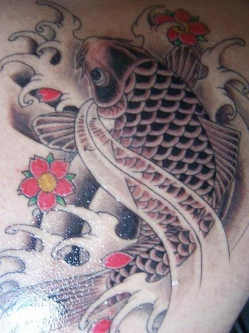 Koi Tattoos for men