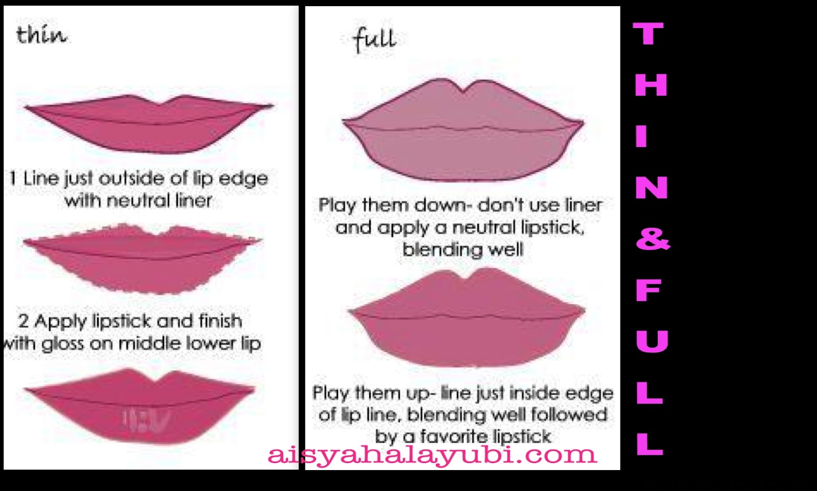 Tricks to have amazing look on your lips shape.