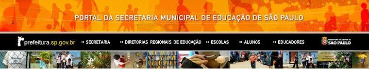 Portal da Secretaria Municipal de Educação - SP