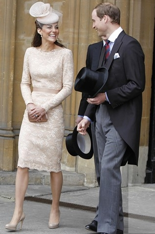 the Duchess of Cambridge at the Diamond Jubilee