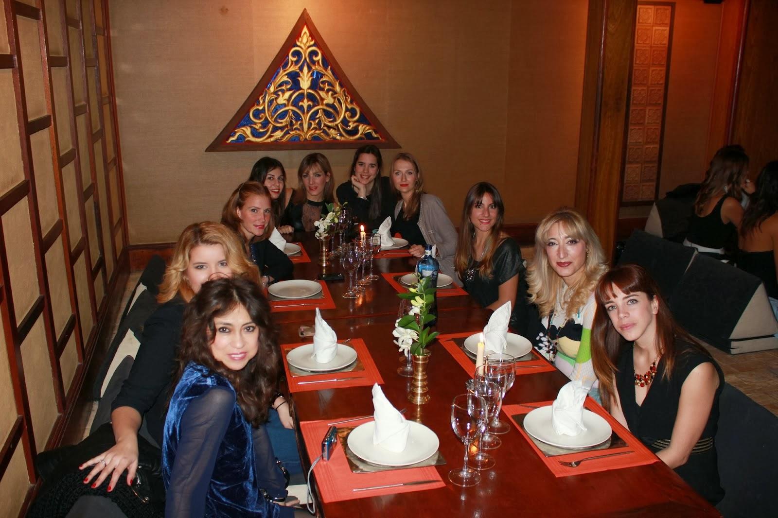 cena bloggers barcelona