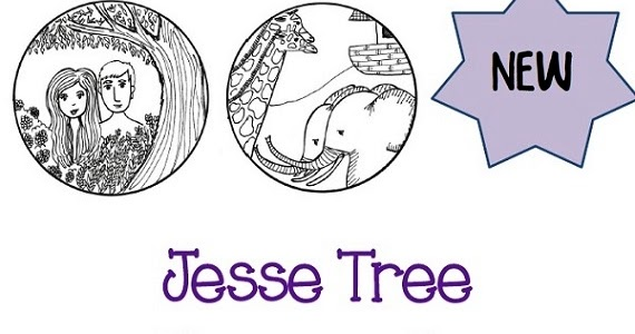Paper Dali Brand New Jesse Tree Ornaments For Advent 2014 Printables