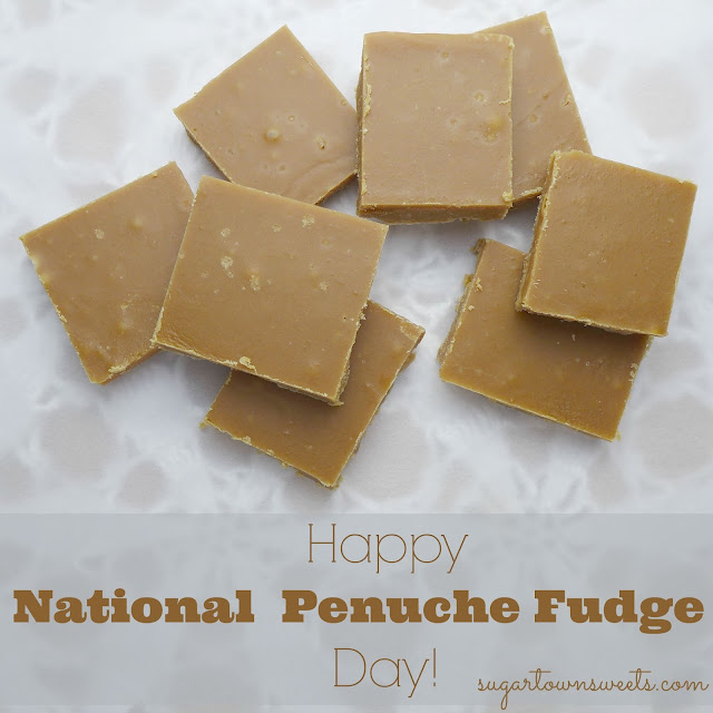 Sugartown Sweets: Happy National Penuche Fudge Day!