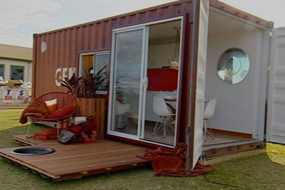 Shipping Container Homes Jamie Durie Top Design Sydney