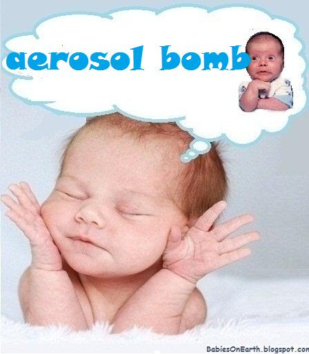 aerosol bomb
