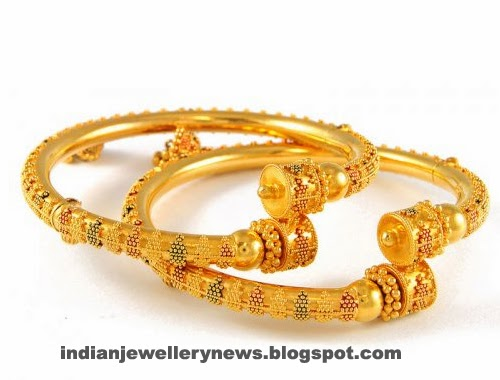Latest antique gold bangles
