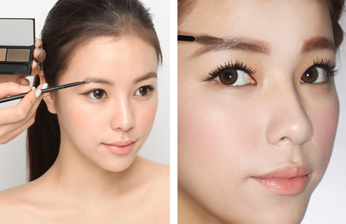 How To Korean Idol Eyebrows Stylenanda