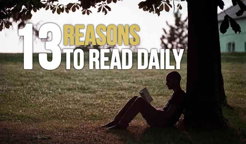 14 reasons to read daily
