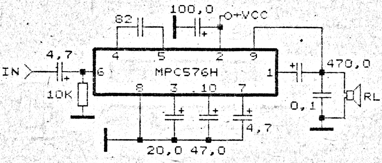 100 watts subwoofer amplifier circuit diagram  images