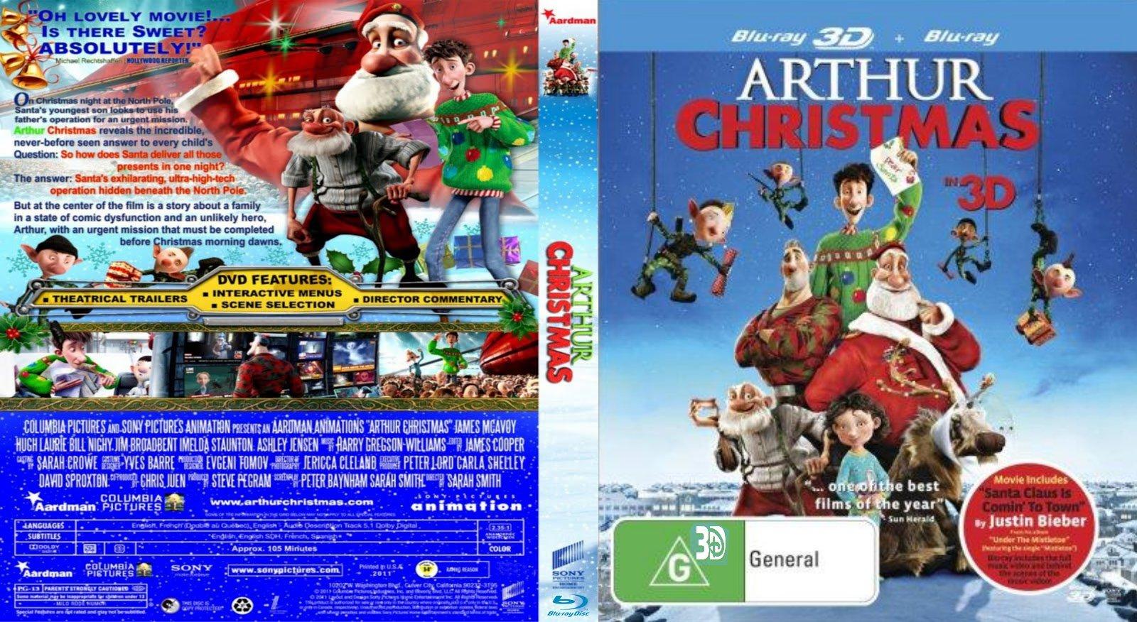 arthur christmas dvd - Arthur Christmas Dvd