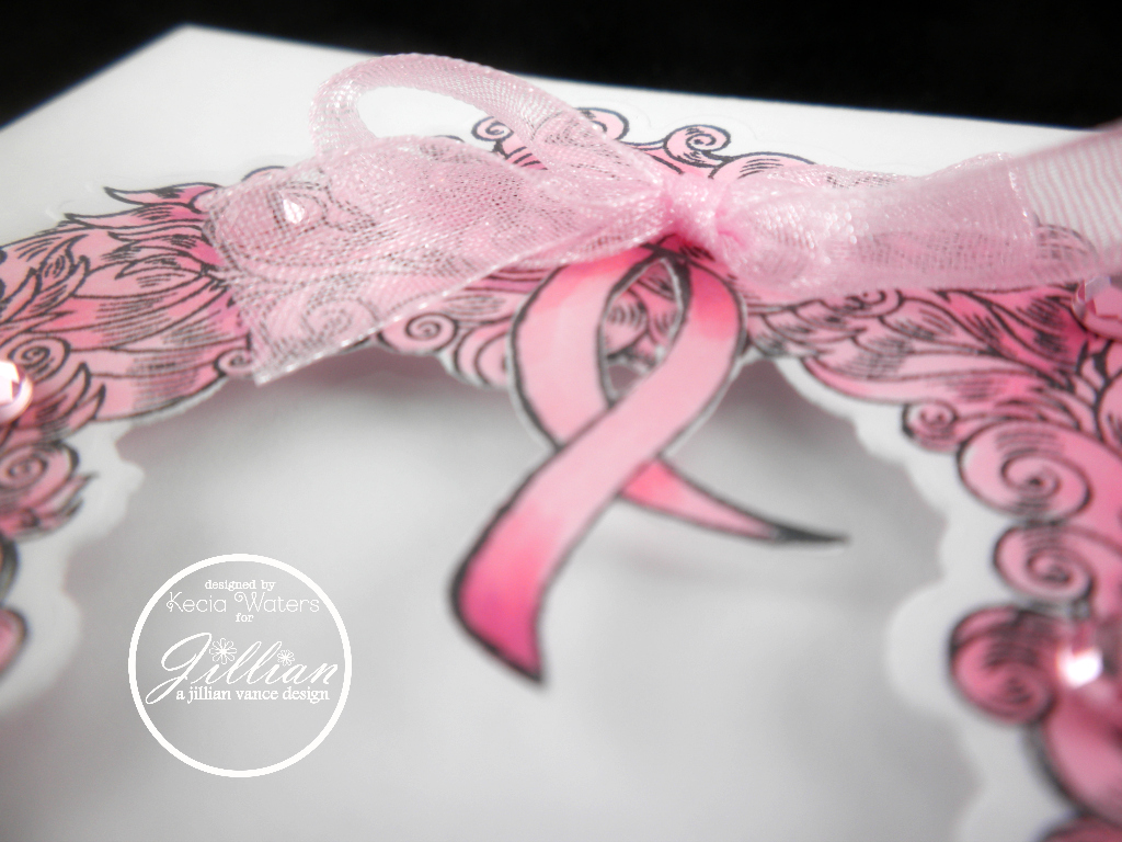 A Jillian Vance Design, Kecia Waters, Copic markers, breast cancer