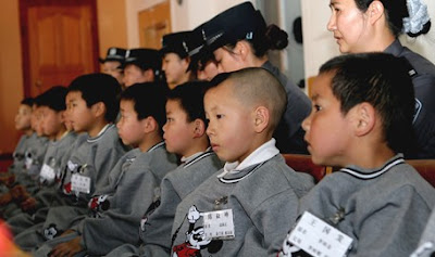 Chinese children rescued from child traffickers
