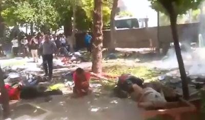 Atentado con bombas deja 28 muertos en Turquía