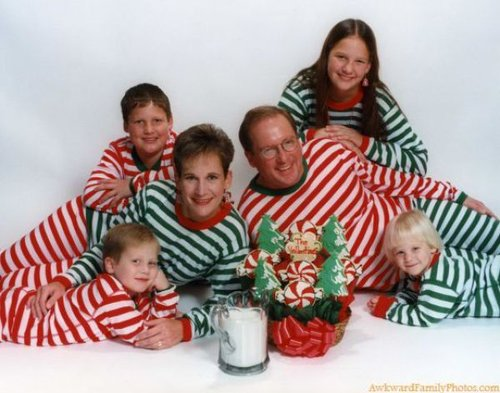 or maybe this - Awkward Family Christmas Photos