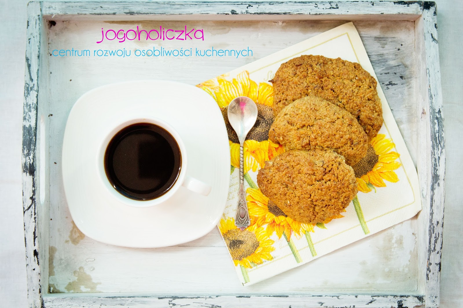 Kokosanki czyli pełnoziarniste, zdrowe ciasteczka kokosowe