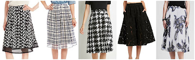 NY Collection Printed Scuba Midi Skirt $12.15 (regular $44.00)  Freeway Windowpane Midi Skirt $17.15 (regular $49.00)  Forever 21 Abstract Houndstooth Print Skirt $22.90  Sam Edelman Embroidered Midi Skirt $60.00 (regular $149.00)  Banana Republic Floral Pleated Midi Skirt $69.97 (regular $110.00)