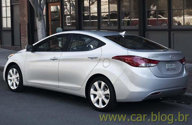 Novo Hyundai Elantra 2012 - traseira