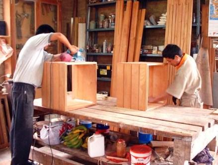 Muebles el viejo roble como se hacen los muebles el viejo roble - Fabricacion de muebles de madera ...