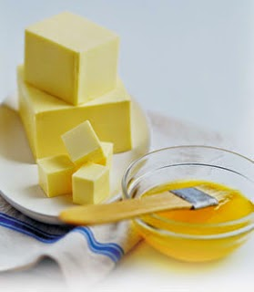 milk and unsalted butter