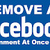 Delete All Facebook Comments At Once