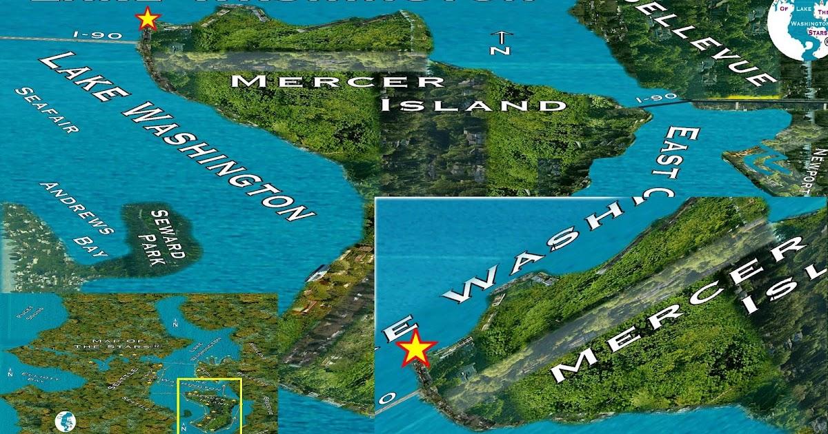Map Of Mercer Island Neighborhoods