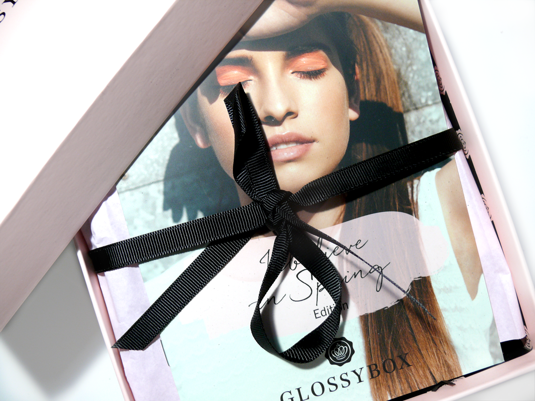 Glossybox I believe in Spring Edition April 2015 Österreich